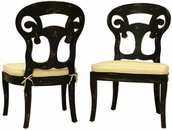 Verona Club Side Chair (one pair)