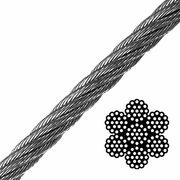 6x19 Class Galvanized Wire Rope