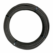 """9/16"""" x 300 ft 6x26 Impact Swaged Wire Rope - 46700 lbs Breaking Strength"""