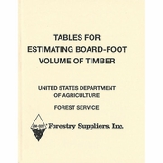 Book, Tables for Estimating Board-Foot Volume of Timber