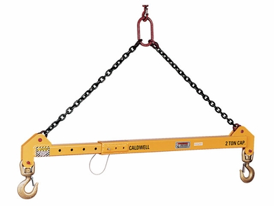 Caldwell 10 Ton x 4 - 6 ft Adjustable Spreader Beam