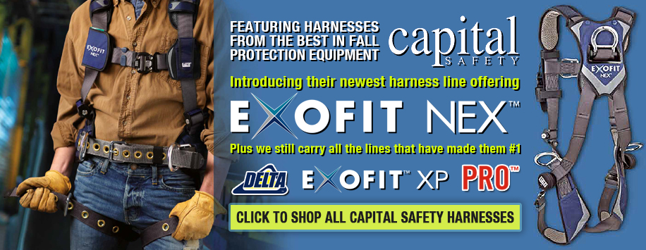Capital Safety Harnesses - DBI Sala & Protecta