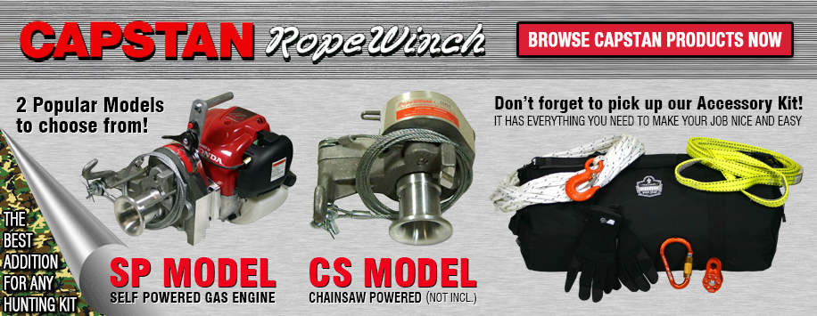 Simpson Capstan Rope Winches for Sale