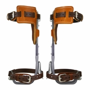 Climb Right CTB Aluminum Pole Climbing Spurs & L-Pads