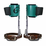 Climb Right CTB Aluminum Pole Climbing Spurs & Ultra Lite Aluminum Pads