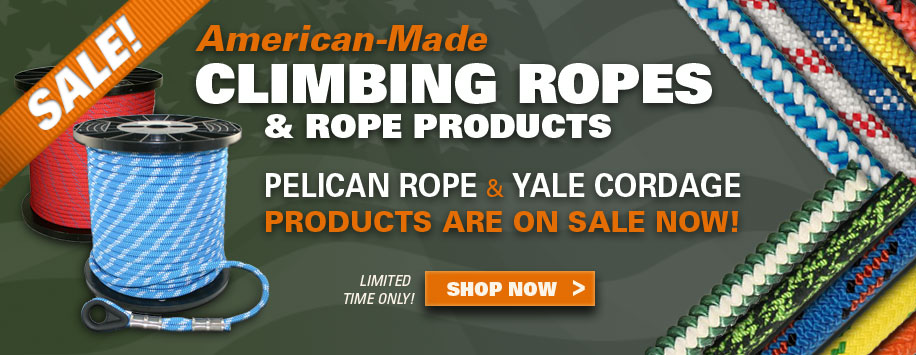 All Climbing Ropes Now on Sale