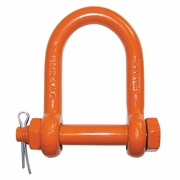"CM 1-1/2"" Bolt Type Long Reach Shackle - 17 Ton WLL"