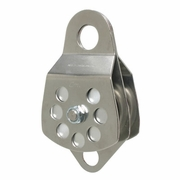CMI, Stainless Steel Double Sheave Pulley w/ Bearing, #RP106D