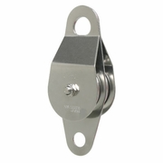 CMI, Stainless Steel Double Sheave Service Line Pulley w/ Bearing, #RP119