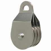"CMI 4"" Triple Sheave Heavy-Duty Rope Pulley - 5/8""  Rope"