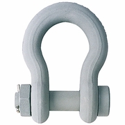 """Crosby 1"""" G-2130CT Bolt Type Anchor Shackle - 8-1/2 Ton WLL - #1260586"""