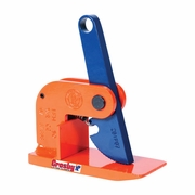 "Crosby 1/2T IPH10 Horizontal Lifting Clamp - 0.00"" - 0.75"" Jaw - 1100 lbs WLL - #2703297"