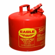 Eagle 5 Gallon Type 1 Red Safety Gas Can