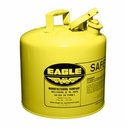 Eagle 5 Gallon Type 1 Yellow Safety Diesel Can