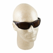 ERB 8200 Dark Brown & Smoke Polarized Safety Glasses