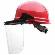 ERB E15 Plastic Face Shield Carrier - Cap Mount