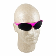 ERB Ella Pink & Smoke Mirror Safety Glasses
