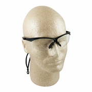 ERB Octane Black & Clear Anti-Fog Safety Glasses