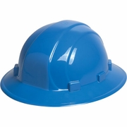 ERB Omega II Full Brim Hard Hat - Blue - #19916