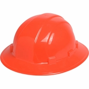 ERB Omega II Full Brim Hard Hat - Hi-Vis Orange - #19923