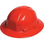 ERB Omega II Full Brim Hard Hat - Red