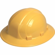 ERB Omega II Full Brim Hard Hat - Yellow - #19912
