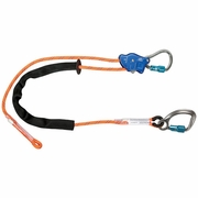 "FallTech TowerClimber Adjustable Lanyard - 7/16"" Rope - 10 ft - #8165E10"