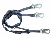 FallTech, Internal 6ft Shock-Absorbing Y Lanyard, #8259Y