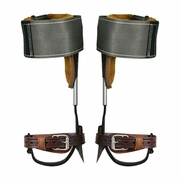 Klein Claw Pole Climbing Spurs & Steel Wrap Pads