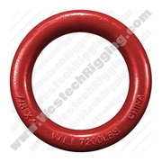 "1-1/4"" x 5"" Weldless Round Ring - 17000 lbs WLL"