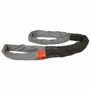 Lift-All Gray 8 ft Eye & Eye Tuflex Round Sling - 31000 lbs WLL