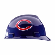 MSA V-Gard Cap Style NFL Team Hard Hat - Chicago Bears