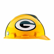 MSA V-Gard Cap Style NFL Team Hard Hat - Green Bay Packers