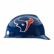 MSA V-Gard Cap Style NFL Team Hard Hat - Houston Texans