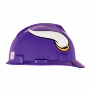 MSA V-Gard Cap Style NFL Team Hard Hat - Minnesota Vikings