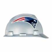 MSA V-Gard Cap Style NFL Team Hard Hat - New England Patriots