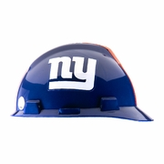 MSA V-Gard Cap Style NFL Team Hard Hat - New York Giants