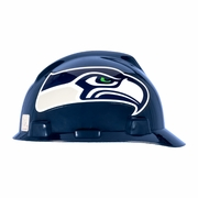 MSA V-Gard Cap Style NFL Team Hard Hat - Seattle Seahawks