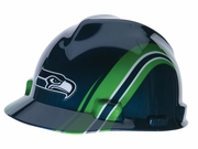 MSA, V-Gard® Officially Licensed NFL Seahawks Hard Hat, #818410