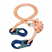 "New England 3 - 6 ft Adjustable HiVee Lanyard - 1/2"" Rope"