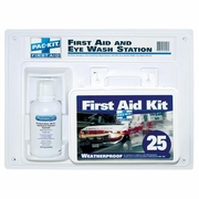 Pac-Kit 25 Person First Aid Kit + Eye Wash