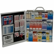 Pac-Kit Metal Three Shelf First Aid Kit - #6155