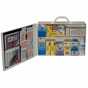 Pac-Kit Metal Two Shelf First Aid Kit - #6135