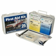 Pac-Kit Metal Weatherproof 25 Person First Aid Kit - #6420