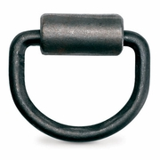 "PCC, 3/8"" Forged D-Ring w/ Weld-on Clip, #DR-038-WLD"