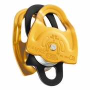 "Petzl Gemini Double Sheave Micro Pulley - 7/16"" Rope"