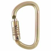Petzl Vulcan Large Steel Carabiner - Triple-Locking