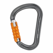 Petzl William Large Aluminum Carabiner - Triple-Locking