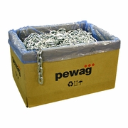 "Pewag 3/8"" Square Security Chain - 100 ft Box"