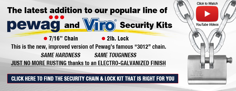 "Pewag 7/16"" Security Chain"